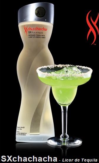 SXchachacha Tequila bottle