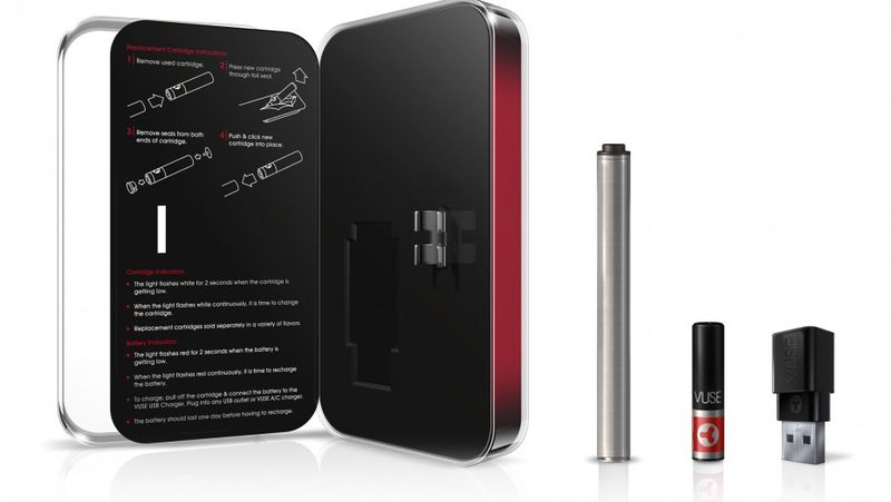Reynolds Vuse e-cigarette packaging reminds one of and Apple iPhone or iPad with its high-tech, sleek look