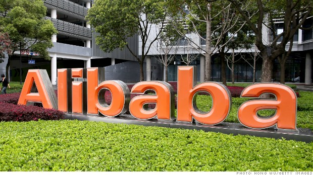 Alibaba files for an IPO