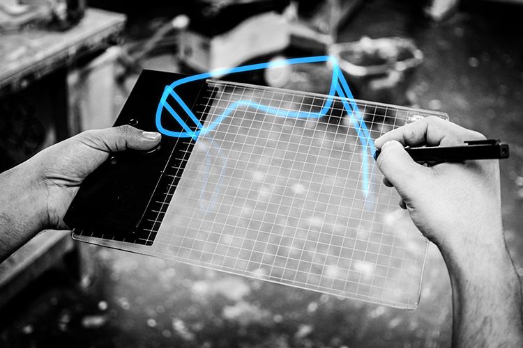 Gravity Sketch is a tablet for 3-D sketching