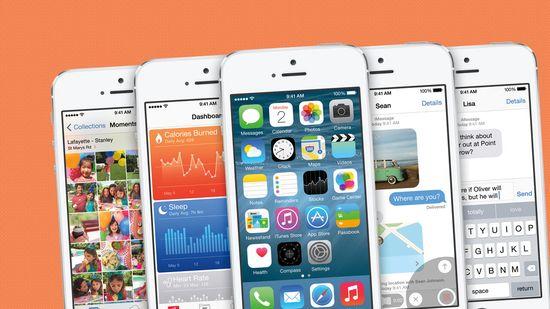 IOS8 screenshots