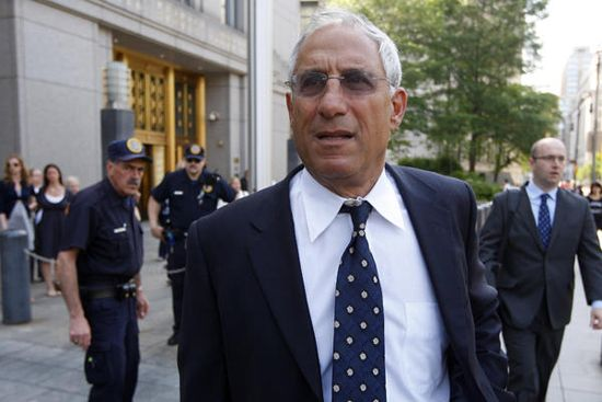 Mark Kurland was Danielle Chiesi's boss at hedge fund firm Galleon Group.  On May 2, 2009, he departs federal court in New York after being sentenced to 27 months in prison for fraud and insider trading
