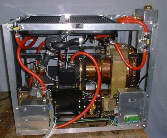 SPR's EmDrive Demonstrator Engine (Side View)