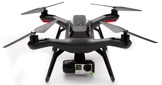 3D Robotics Solo drone with high resolution Hero 4 camera 2