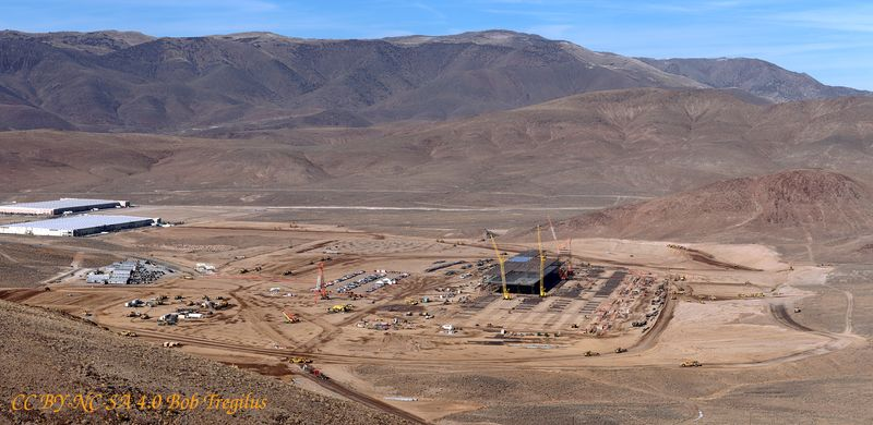 Tesla Gigafactory when completed in 2016, will produce Tesla Powerwall Batteries