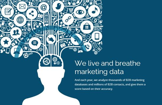 We Live and Breathe Marketing Data