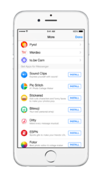 Messenger Platform sample apps 2
