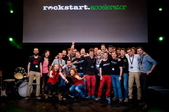 Rockstart, an accelerator that has become a center of Amsterdam's startup scene, hosts its demo day