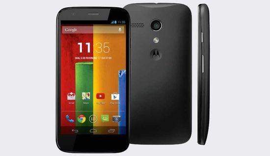 Motorola MotoG 2nd Generation smartphone