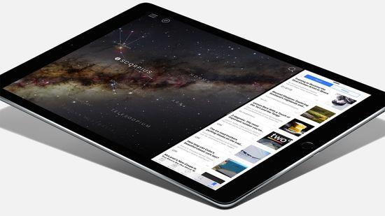 The new Apple iPad Pro tablet