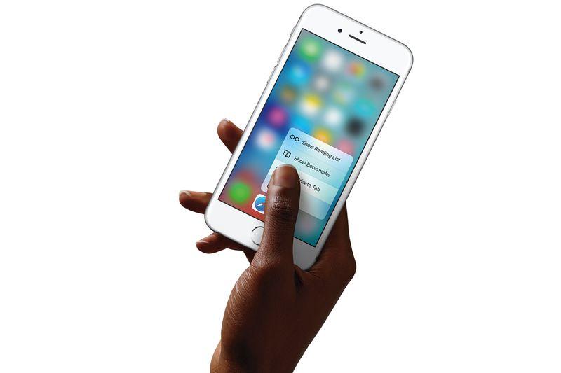 Apple's new Iphone 6S