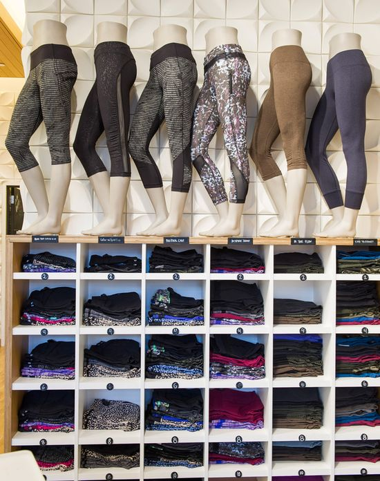 Lululemon 'sensations' exist on a spectrum ranging from Relaxed ('nothing in your way') to Tight ('locked and loaded') with four others of varying tightness in between
