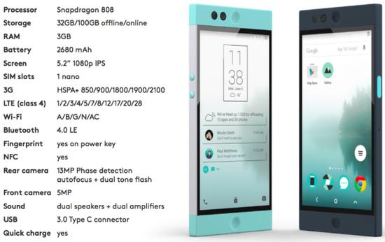Nextbit Robin specifications