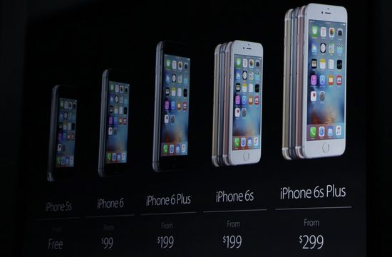 Apple iPhone 6 series of smartphones