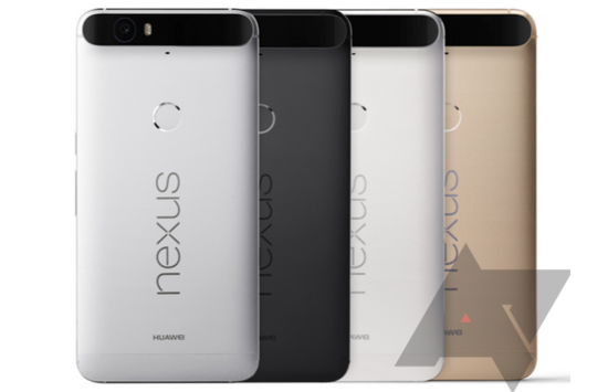The Huawei Nexus 6P handset will come in four color options such as grey-silver, white, black and gold