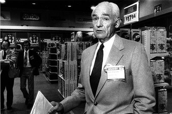 Walmart founder Sam Walton