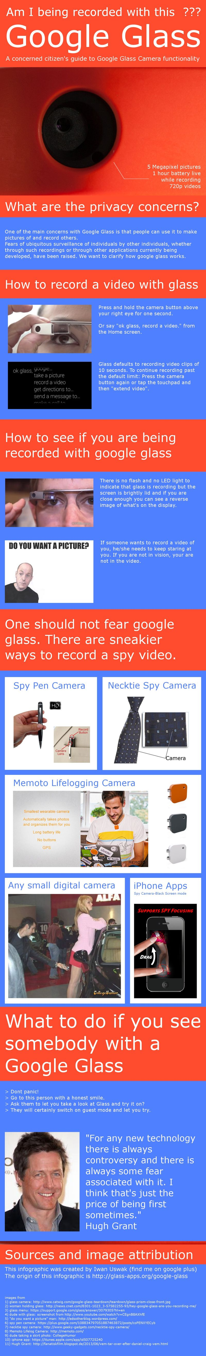 Google Glass -- A Concerned Citizens Guide To Google Glass and Camera Functionality