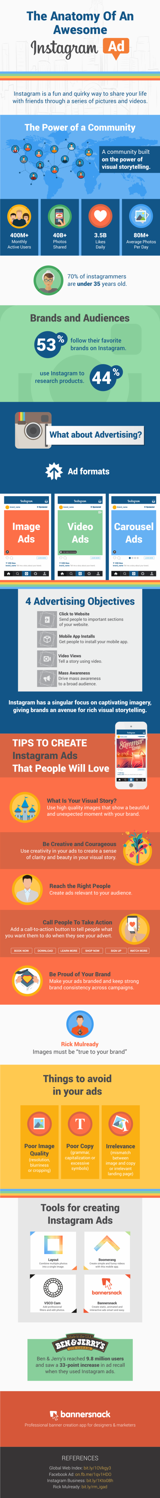 The Anatomy Of An Awesome Instagram Ad - Bannersnack