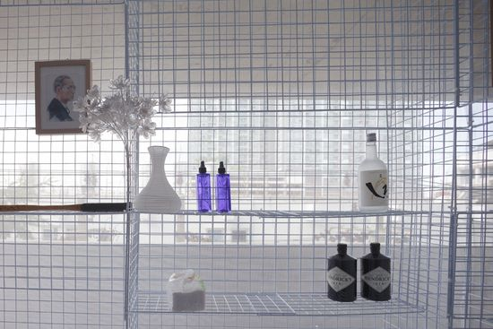 Light House popup apartment can be setup in abandoned buildings or parking garages -11