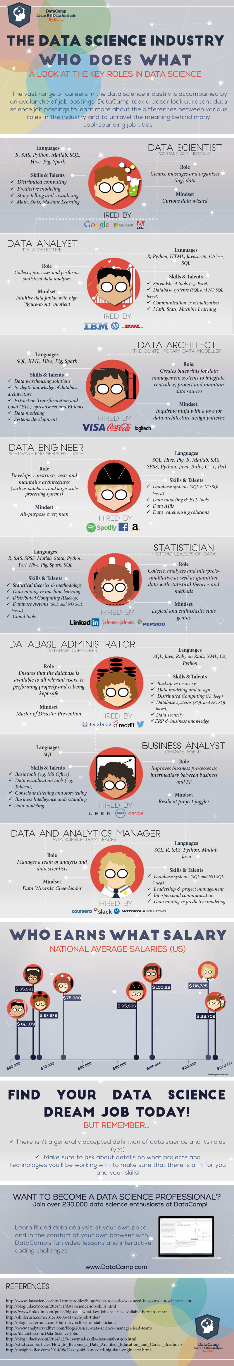 The Data Science Industry and Who Does What
