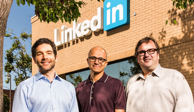 Microsoft Chief Executive Satya Nadella (bald dude) has said LinkedIn will be allowed significant autonomy after the acquisition.
