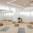 The Community Events center includes a place for yoga workouts located inside Lululemon's flagship store in the Flatiron district of New York City (Click Image To Enlarge)
