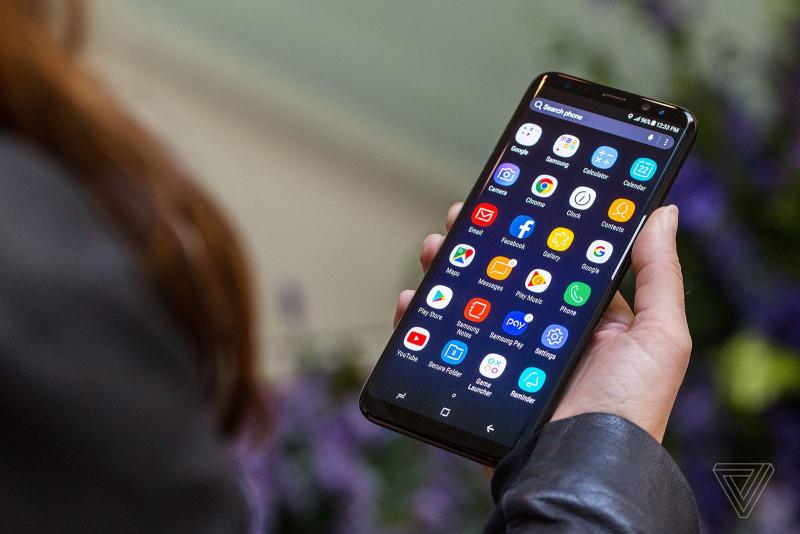 Samsung Galaxy S8 Plus sports a 6.2-inch crystal clear screen