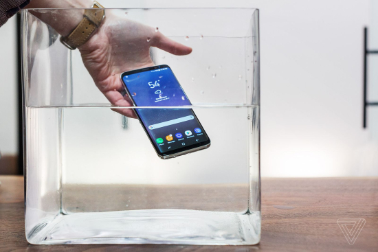 Samsung Galaxy S8 and S8 Plus  like the S7  are water resistant