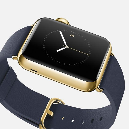 Apple_watch_edition gold watch