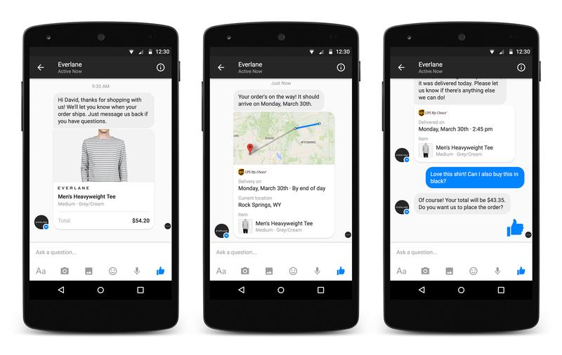 Businesses on Messenger 2