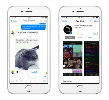 Messenger Platform sample apps 1