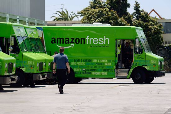 It is likely that Amazon would sell its private-label food and household items through its Amazon Fresh grocery delivery service, currently available in a handful of U.S. cities