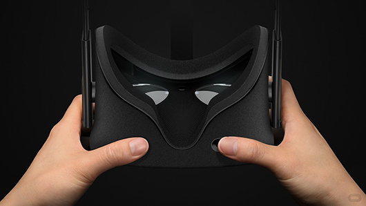 The consumer Rift virtual reality headset includes a mechanism that allows you to adjust the distance between the lenses for the most comfortable visual experience