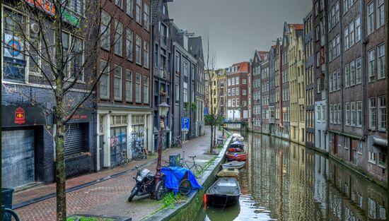 Amsterdam, Netherlands canals