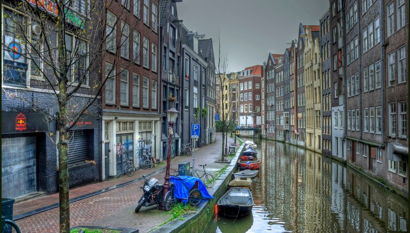 Amsterdam, Netherlands canals