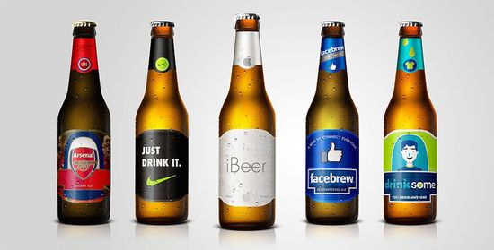 If Facebook, Nike and Apple made beers this is what they might look like 1