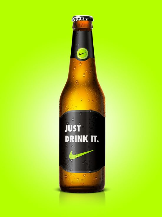 Nike's Just Drink It beer