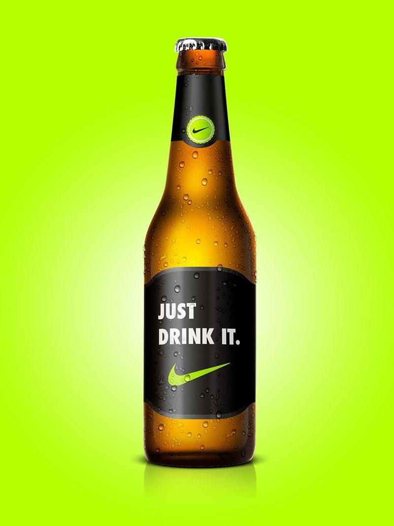 Nike's Just Drink It beer