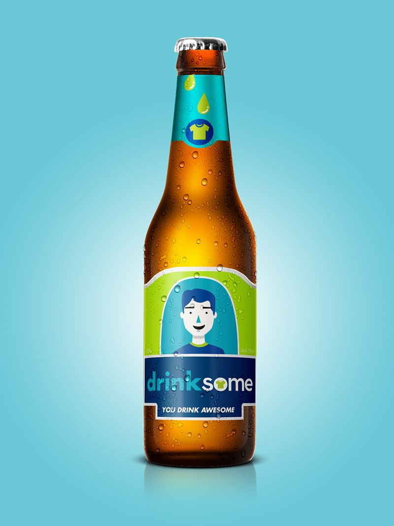 Printsome's DrinkSome beer