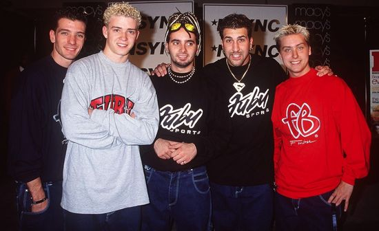 NSYNC wearing FUBU when the brand went mainstream
