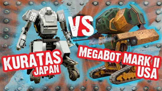Giant Robot Fights (Image Courtesy www.jalopnik.com)