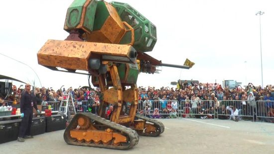 Giant Robot Fights US-Megabots-Mark-2 (Image Courtesy www.megabots.com)