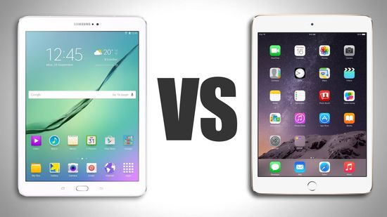 Samsung Galaxy Tab S2 vs Apple iPad Air 2 Comparison