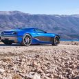 The Rimac is powered by a 1,088-hp, four-motor system with a 92-kWh battery