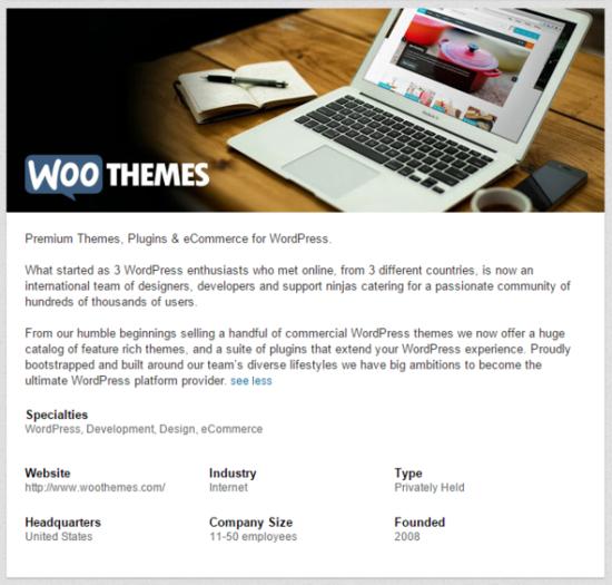 Woo-linkedin-page