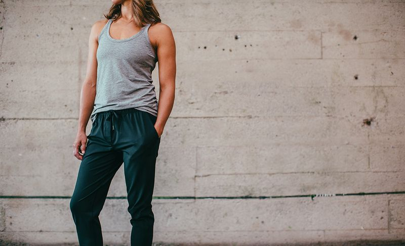 Lululemon Relaxed yoga pants means that nothing gets in your way during your workout