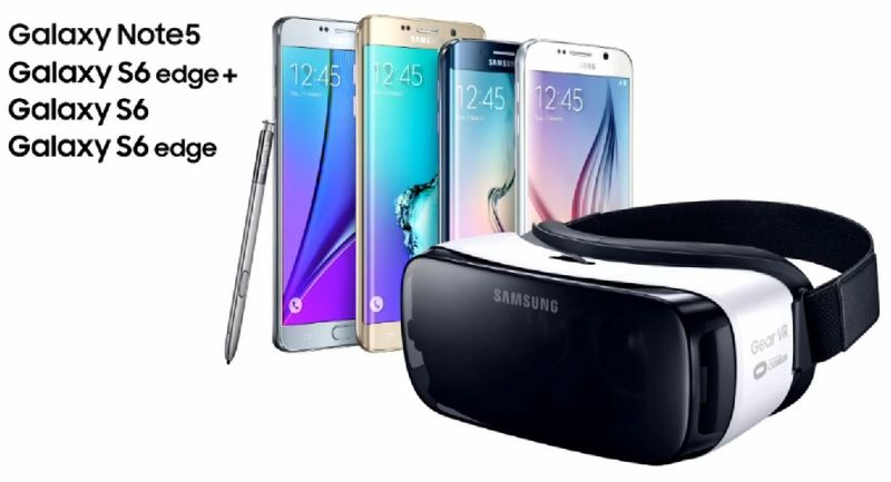 Samsung and Facebook-Oculus VR partnership uses the Oculus VR headset and Galaxy line of phones to create emersive VR