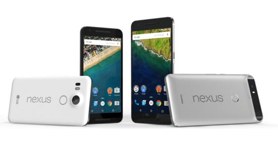 Nexus_5X_and Nexus 6P smartphones