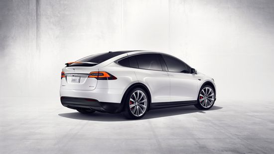 Tesla Model X all-electric SUV C