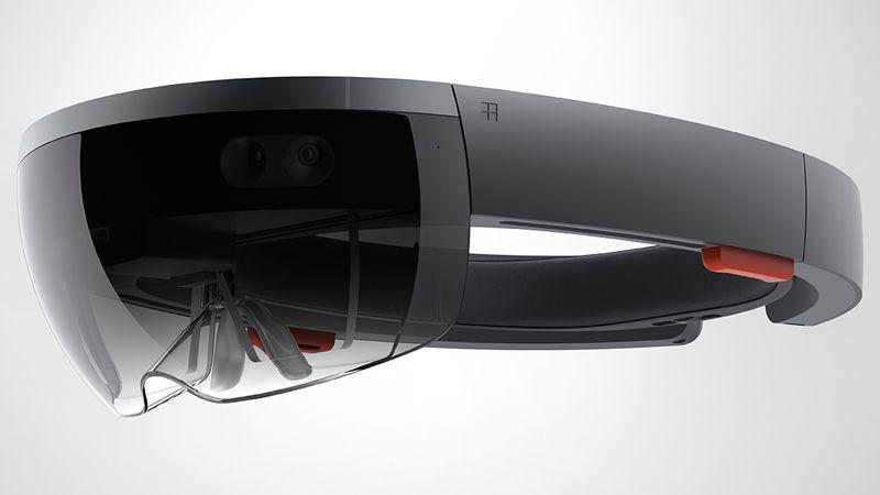 Microsoft Hololens holographic headset